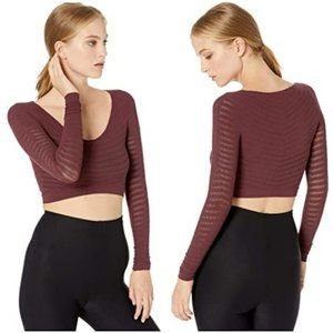 Free People Movement Gone Adrift Long Sleeve Red